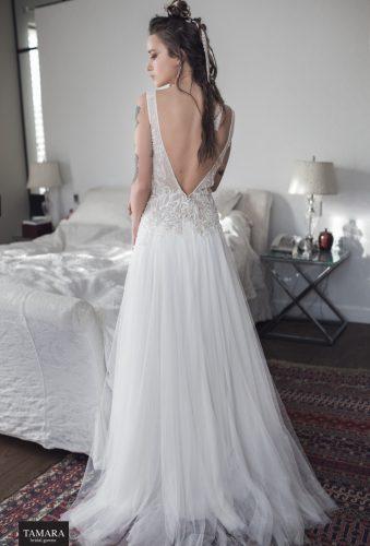שמלת כלה אורבנית גב חשוף