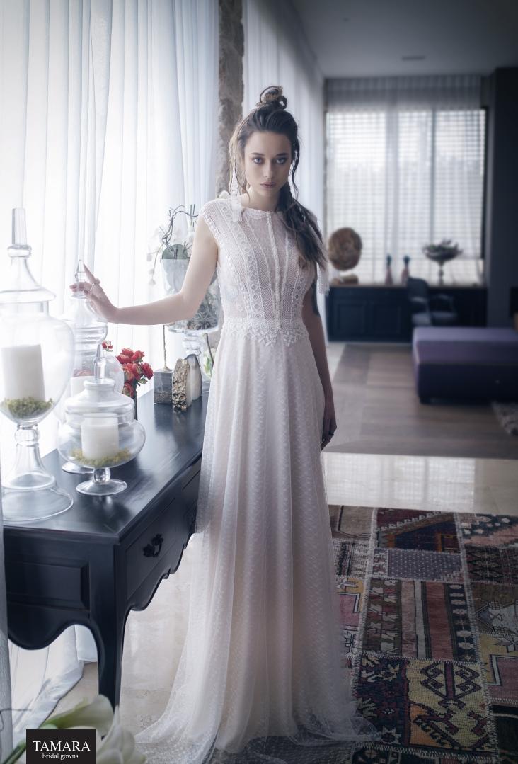 שמלת כלה וינטג' תחרה
