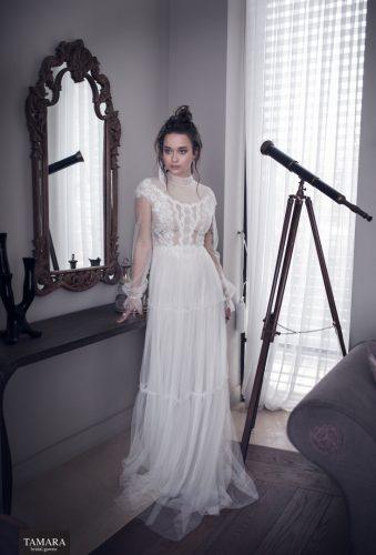שמלת כלה רומנטית בסגנון כפרי