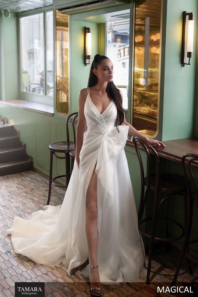שמלת כלה עם שסע