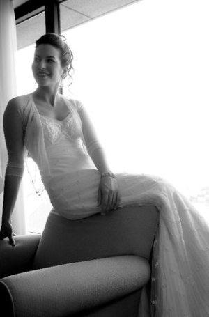 שמלת כלה עם שרוול עדין